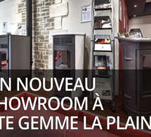 Un nouveau showroom exceptionnel à Ste Gemme la Plaine